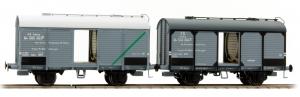 ACME 45055 Набор грузовых вагонов vino Adria+Faen FS Epoche III 1/87