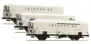 ACME 45076 Набор вагонов 3шт INTERFRIGO FS Epoche V 1/87