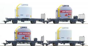 Bemo 7452111 Набор вагонов RhB 4er-Wagenset Zementwagen Uce H0m Epoche V  Bemo_7452111.jpg