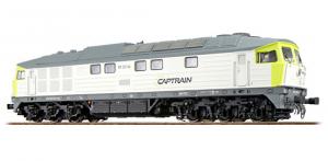 ESU 31164 Тепловоз 232-04 Captrain Epoche VI 1/87