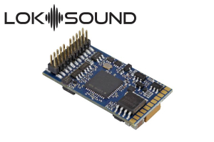 ESU 58412 Декодер звуковой LokSound 5 DCC/MM/SX/M4 PluX22