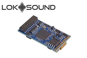 ESU 58419 Декодер звуковой LokSound 5 DCC/MM/SX/M4 21MTC NEM 660