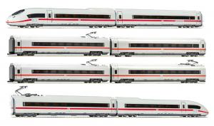 Fleischmann 448003+448103+448203 Электропоезд ICE 3 407 8-вагонов DB AG Epoche VI