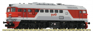 Fleischmann 725210 Diesellokomotive M62 Diesellok M62(Diesellok) RZD Epoche 1/87 Fleischmann_725210.jpg