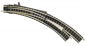 Fleischmann  9169 Стрелка радиусная правая R1/R2 45 гр.