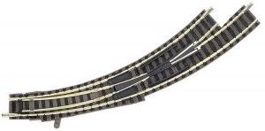 Fleischmann  9174 Стрелка радиусная левая 45 гр.