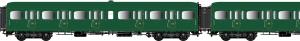 LSM 40321 Набор вагонов Express Nord C11+C11+B4d SNCF Epoche 1/87 LSM_40321.jpg
