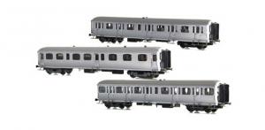 LSM 42170 Набор вагонов A3B4yfi+B9Yfi+C11yi SNCB Epoche 1/87 LSM_42170.jpg