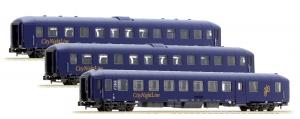 LSM 79015 Набор пассажирских вагонов Bpm/BDcm City Night Line, Epoche V 1/160