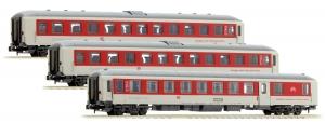 LSM 79016 Набор пассажирских вагонов City Night Line DB AG Epoche V - VI 1/160