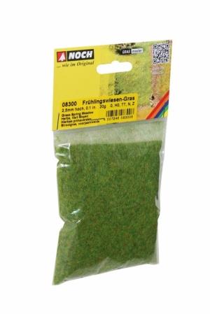 Noch 08300 Имитация травы (флок) весенняя зелёная длина 2,5мм 20г