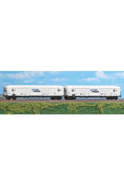 ACME 45075 Набор вагонов Interfrigo FS Epoche IV-V 1/87