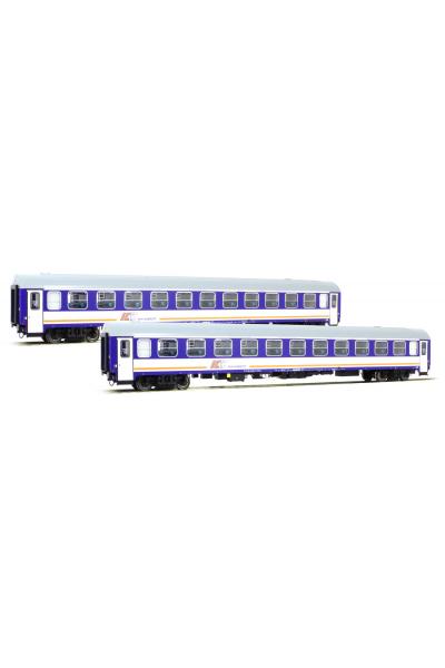 ACME 55093 Набор вагонов Typ 136A 2шт PKP ICCC Epoche V 1/87