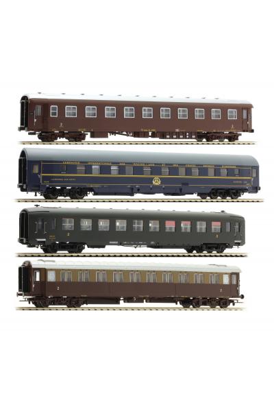 ACME 55130 Набор пассажирских вагонов Roma Express FS Epoche III 1/87