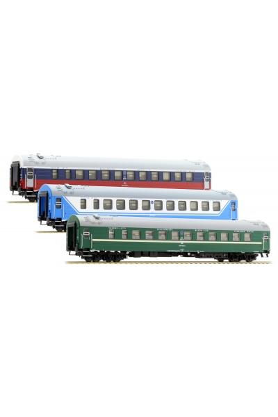 ACME 55149 Набор пассажирских вагонов D 1248/1249 Saratov-Express РЖД Epoche V 1/87