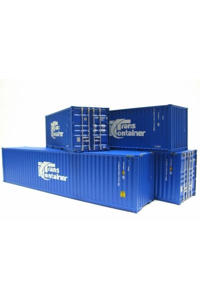 ACME 95016 Набор контейнеров ТРАНСКОНТЕЙНЕР 2 Эпоха V-VI 1/87