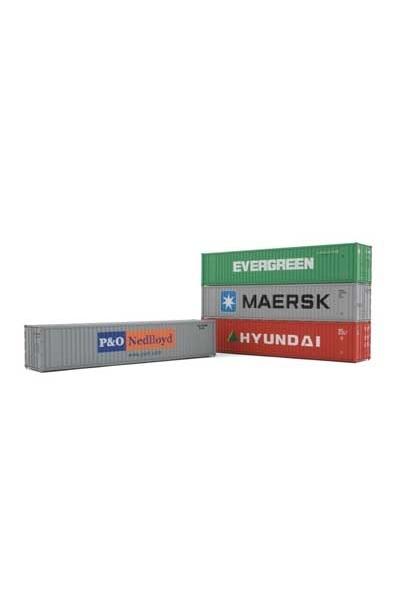 Arnold HN8202 Набор контейнеров 4шт 40 футов Epoche IV - V 1/160