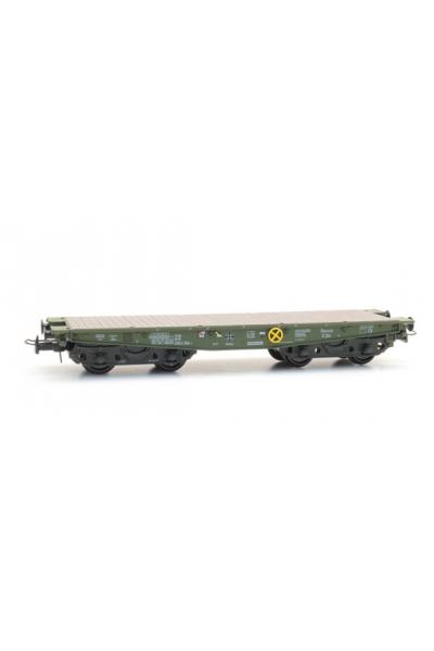 Artitec 20.284.12 Вагон платформа SSy 55 3994 154-1 Bundeswehr Epoche VI 1/87
