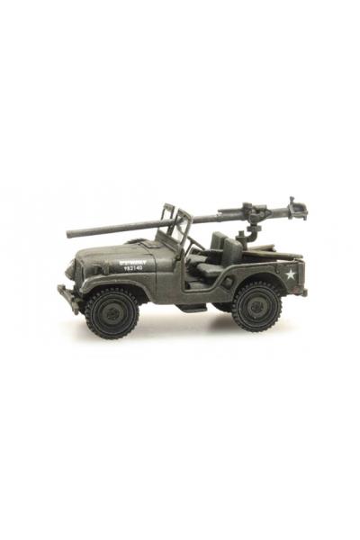 Artitec 387.307 Автомобиль Willys M38 Jeep+106mm AT Gun US Army Epoche II-III 1/87