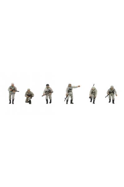 Artitec 387.81-W1 Набор фигур 6шт пехота зима Epoche II 1/87