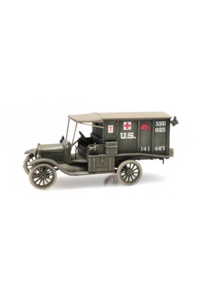 Artitec 6870308 US T-Ford санитарный Epoche I 1/87