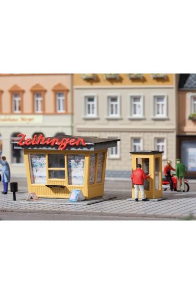 Auhagen 12340 Газетный киоск телефонная будка Н0/ТТ