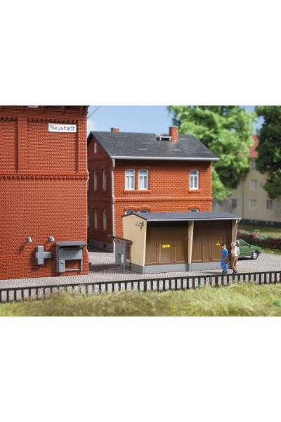 Auhagen 13338 Трансформаторная будка с принадлежностями 3 1/120