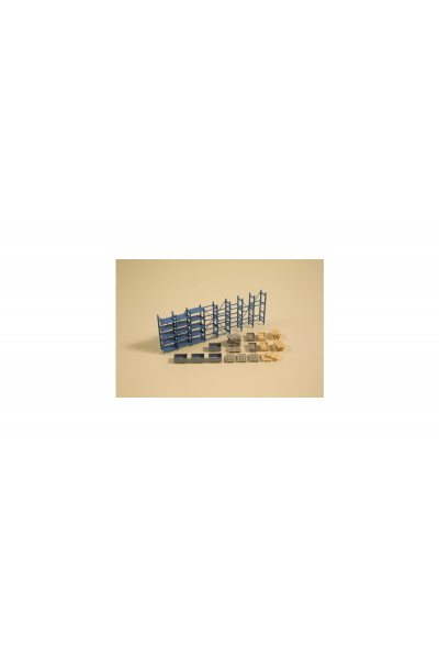Auhagen 41660 Стеллажи и поддоны H0