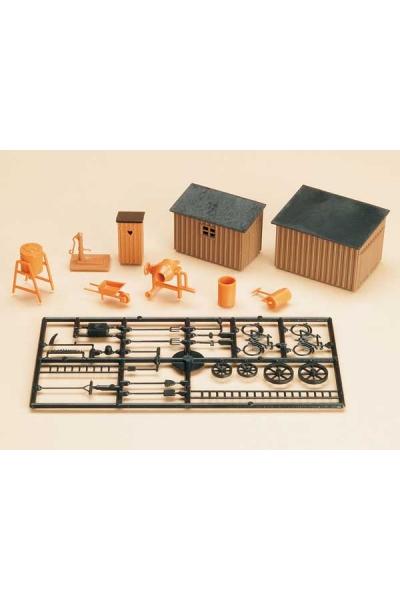 Auhagen 42571 Туалет сарай инструменты Н0/ТТ
