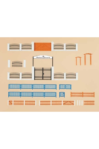 Auhagen 42648 Заборы и ворота Н0/ТТ
