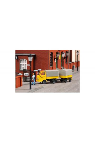 Auhagen 43662 Multicar M22 Post с прицепом TT