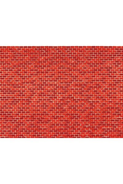 Auhagen 50504 Картон 220x100мм кирпич красный H0/TT