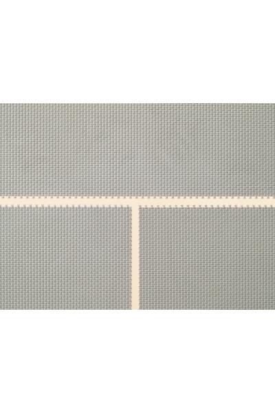 Auhagen 52408 Декоративная панель плитка тротуарная (серая) Н0/ТТ