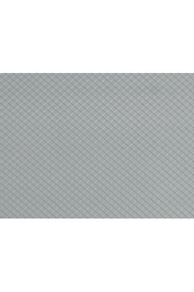 Auhagen 52415 Пластина шифер ромб (серый) 200 x 100мм Н0/ТТ