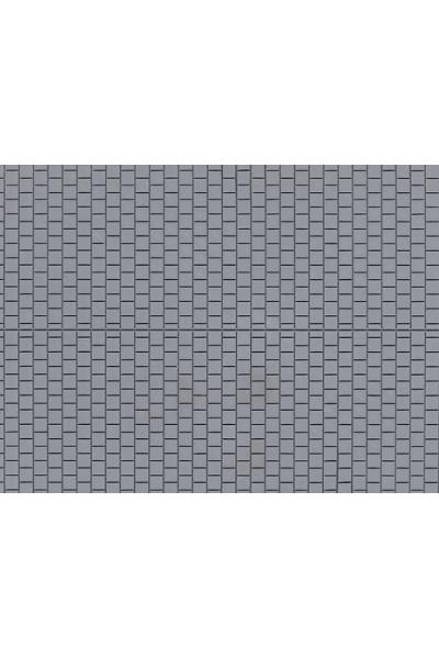 Auhagen 52423 Декоративная панель плитка тротуарная квадратная (серая) 200 x 100мм Н0/ТТ