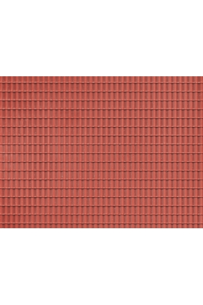 Auhagen 52425 Пластина черепица (красная) 200 x 100мм Н0/ТТ