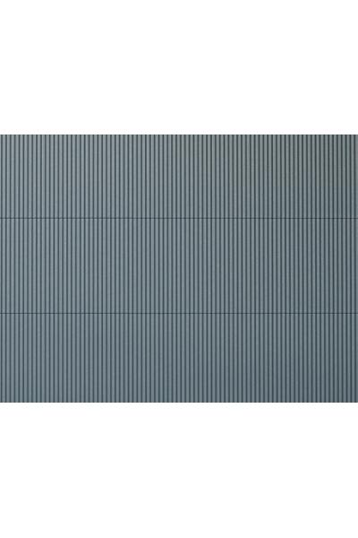 Auhagen 52431 Декоративная панель гофрированное железо (серая) 200 x 100мм Н0/ТТ
