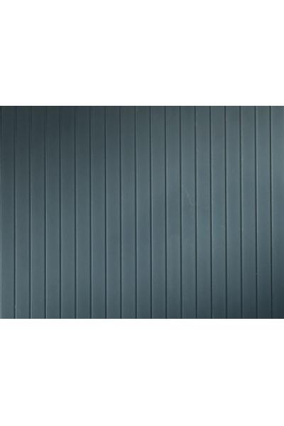 Auhagen 52435 Декоративная панель листовая металлическая крыша (серая) 200 x 100мм Н0/ТТ