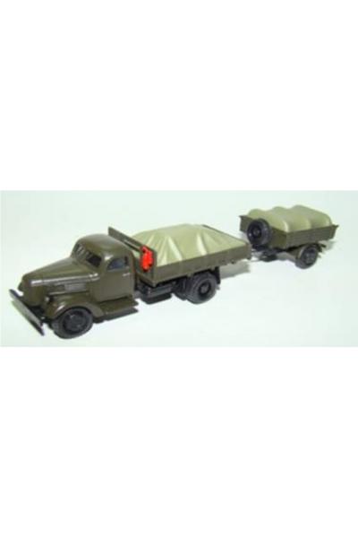Auto 110491 Автомобиль ЗиЛ-150 низкий борт груз прицеп 1/87