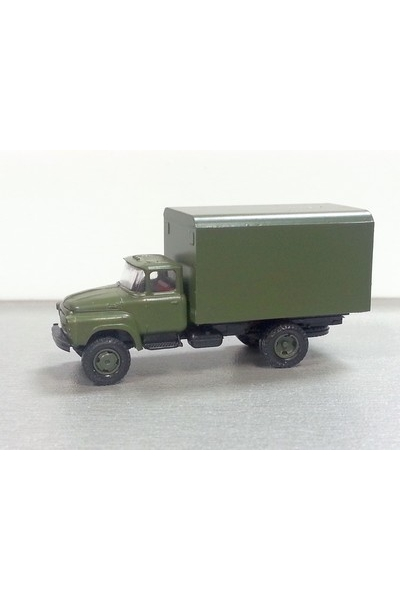 Auto 120011 Автомобиль ЗиЛ 130 кунг армейский эпоха IV-V 1/120