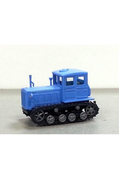 Auto 120021 Трактор Т-74 голубой эпоха III-V 1/120