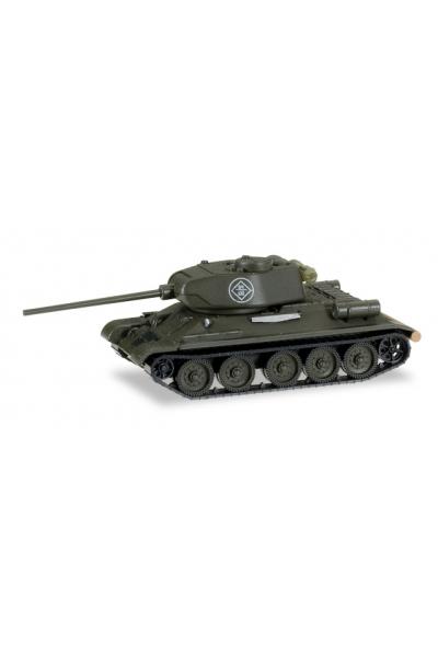 Auto 145666 Танк T34/85 тактический номер 64 120 c брезентом 1/87