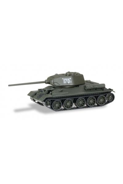 Auto 145727 Танк Т-34/85 тактический номер 170 3 1/87