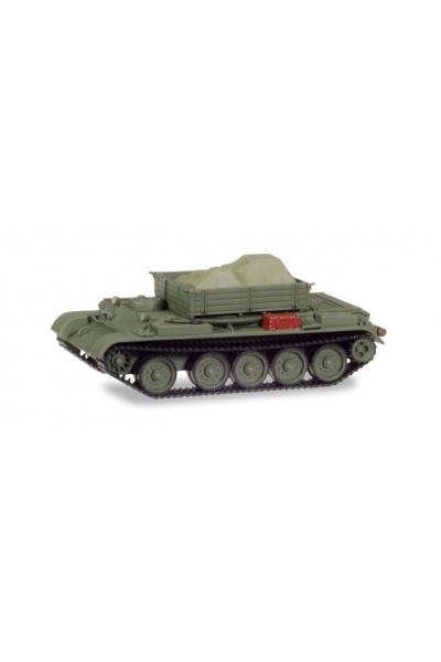 Auto 145901 Танк Т-54 ремонтный с грузом 1/87
