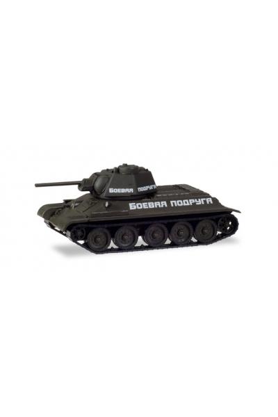 Auto 146199 Танк Т-34/76 БОЕВАЯ ПОДРУГА 1/87