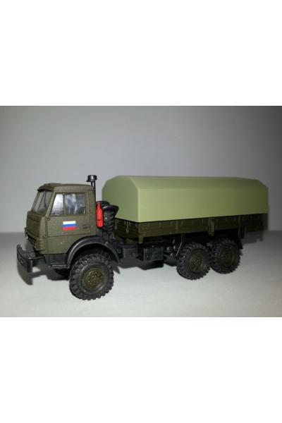 Auto 172002 Автомобиль тент трехосный МО РОССИЯ 1/87