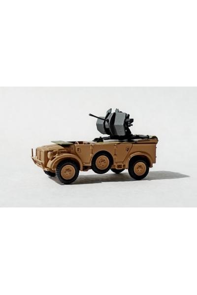 Auto 254016 Бронеавтомобиль Horch 108 с зенитным орудием 1/87