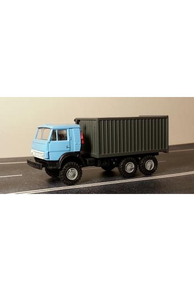 Auto 745001 Автомобиль с контейнером голубая кабина