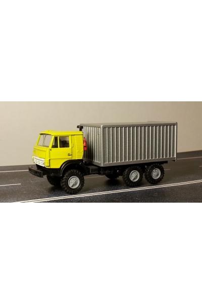 Auto 745002 Автомобиль с контейнером желтая кабина