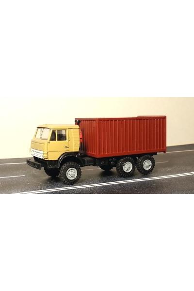 Auto 745003 Автомобиль с контейнером бежевая кабина
